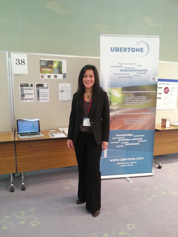 Ubertone's stand at Flucome